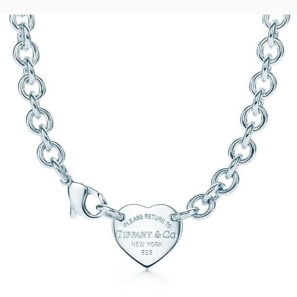 b4d5e1bf1 Tiffany & Co. Jewelry | Return To Tiffanys Heart Choker | Poshmark